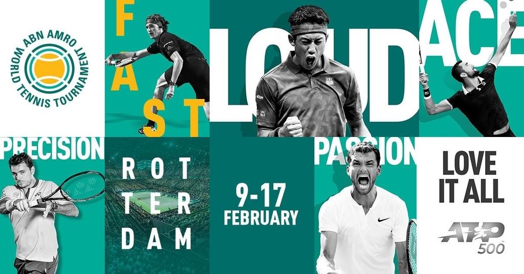 ABNアムロ世界テニス・トーナメント2019の錦織圭