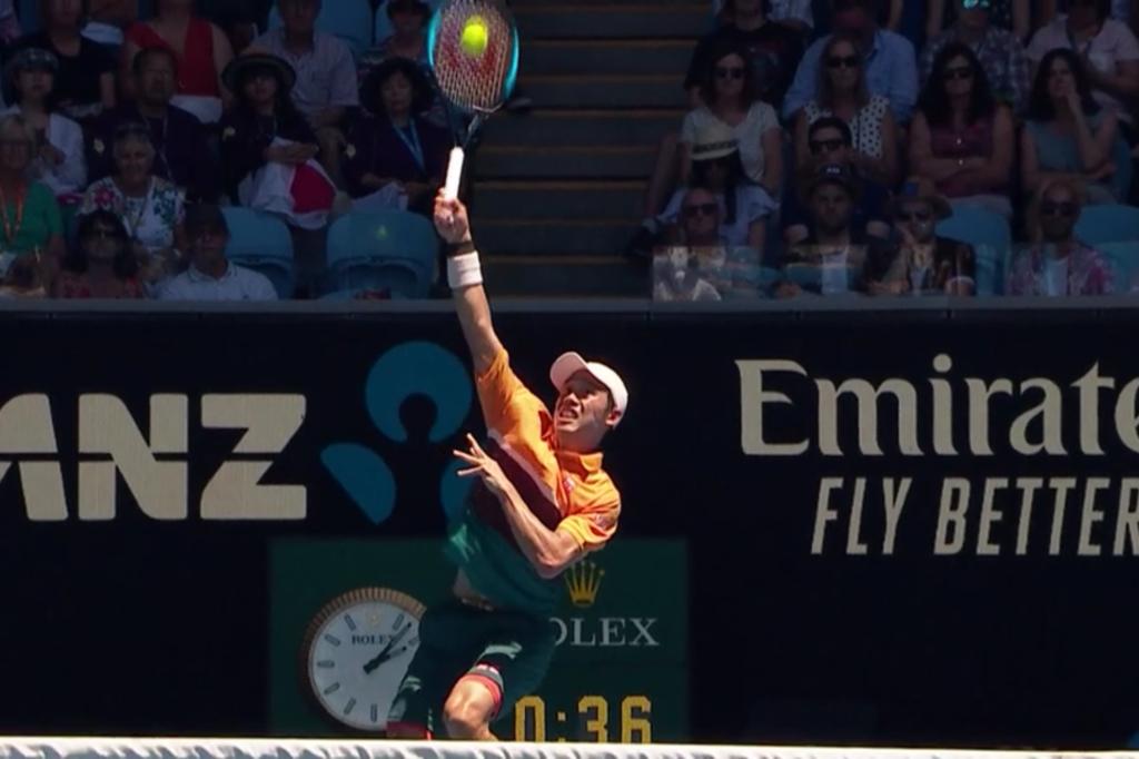 全豪オープンテニス2019の錦織圭