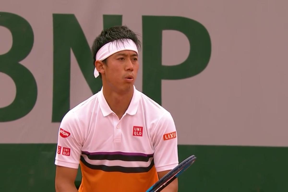 全仏オープンテニス(ローラン・ギャロス)4回戦の錦織圭