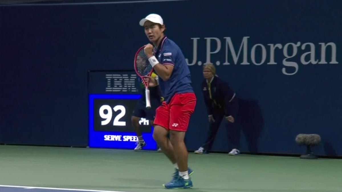 全米OPテニス2回戦・西岡良仁のTV放送・試合スケジュール