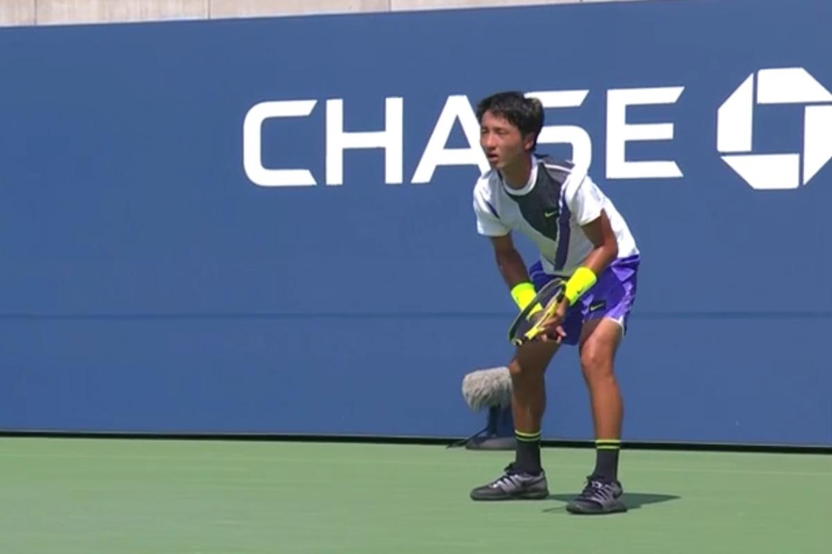 全米オープンテニス・ジュニア男子シングルス、望月慎太郎