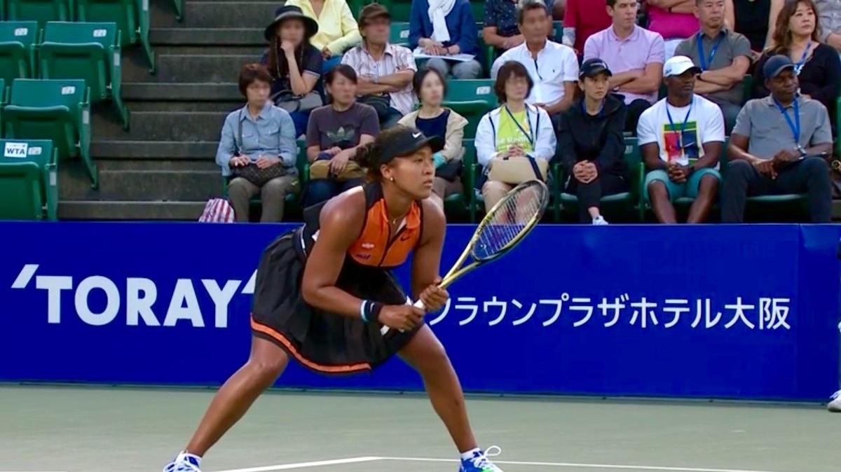 東レ パンパシフィック オープン テニスの大坂なおみ