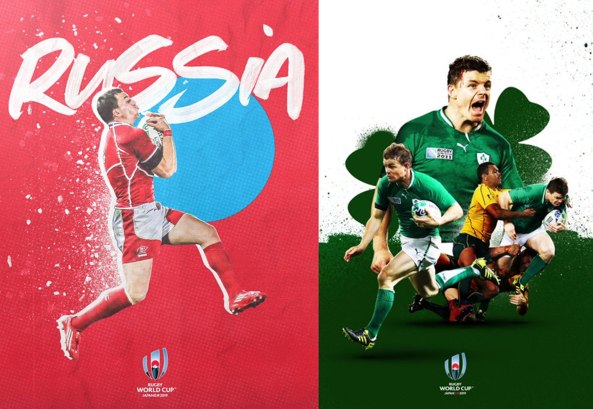 ラグビーワールドカップ2019ロシアvsアイルランド