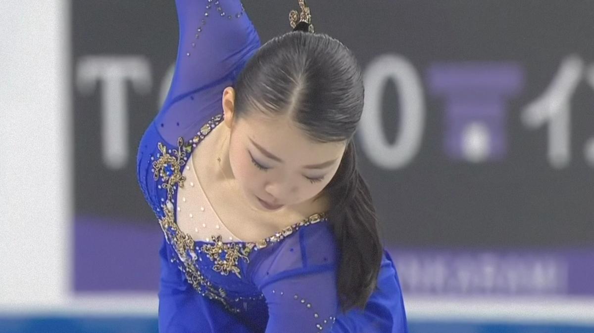 フィギュアスケートGPシリーズ第2戦のスケートカナダ大会に出場の紀平梨花