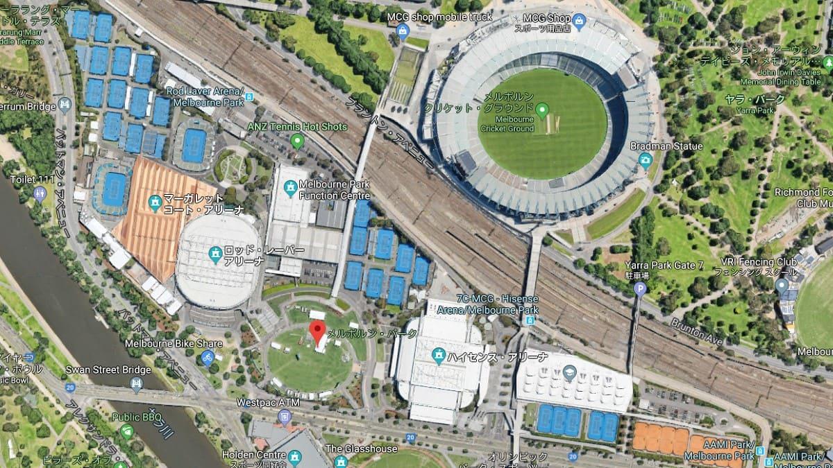 Melbourne Park-全豪オープンテニス2020会場