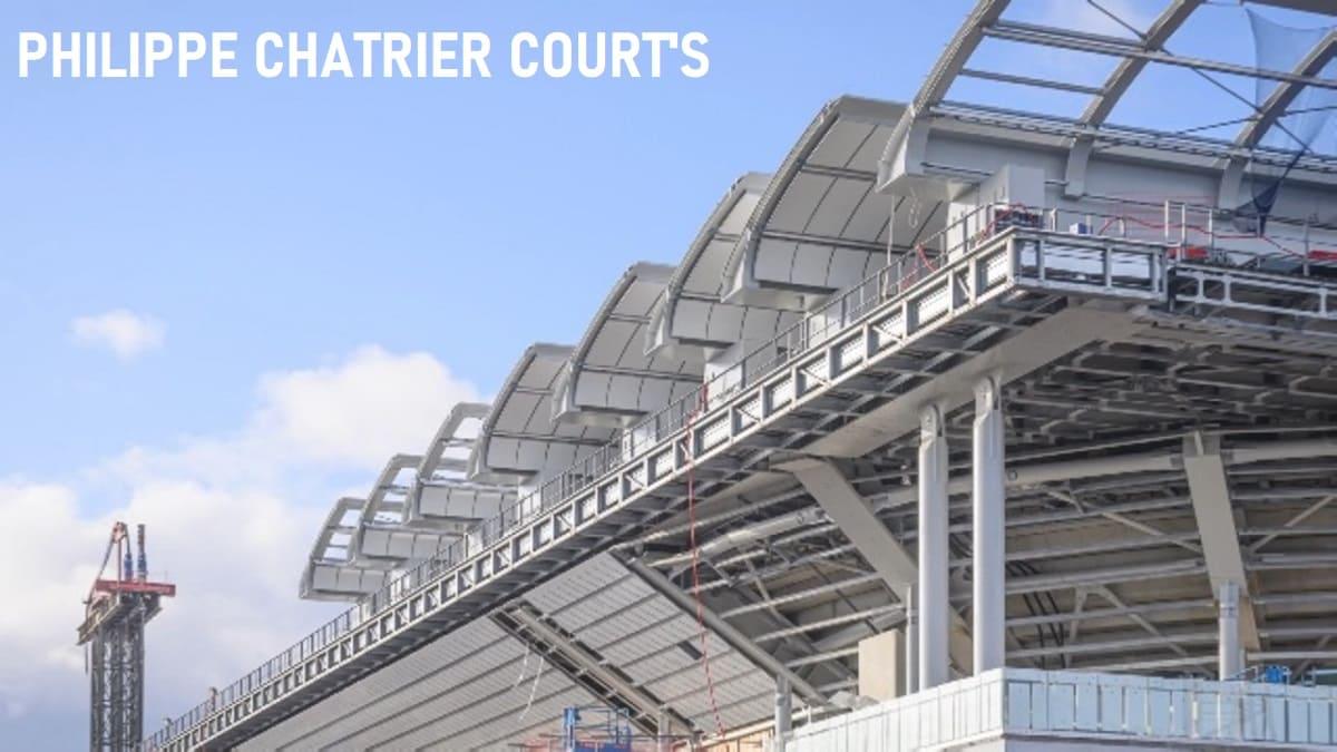 全仏オープン・テニス試合会場のフィリップ・シャトリエ(画像)