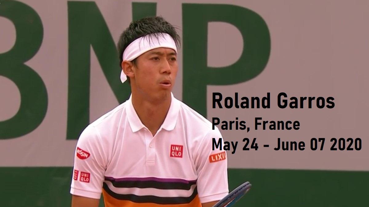 全仏オープンテニス2020 錦織圭