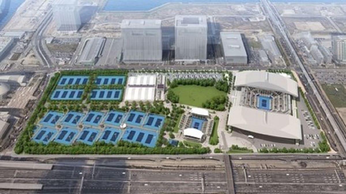 東京オリンピック・テニス試合会場の画像