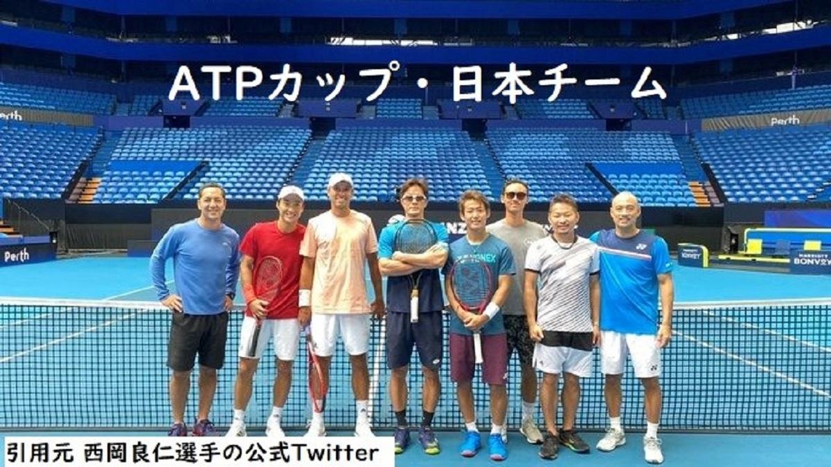 ATPカップ2020の試合日程と放送予定