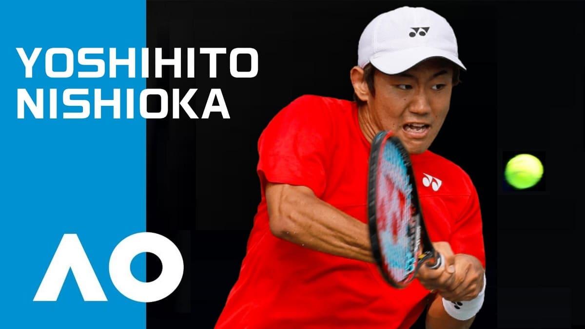 全豪オープンの西岡良仁