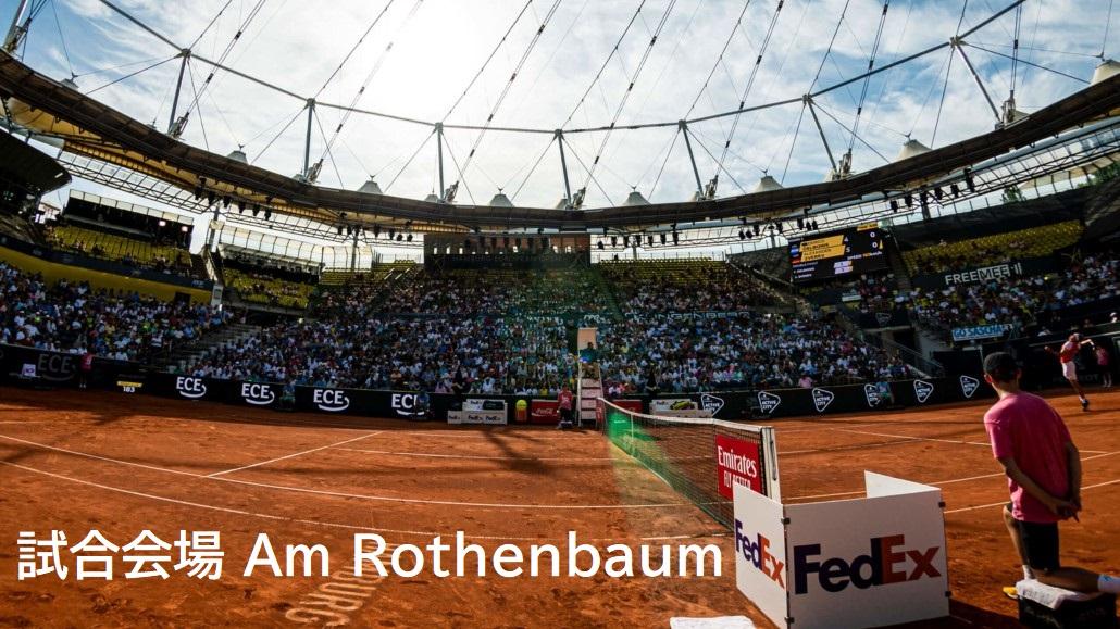 ドイツ国際オープン試合会場のアム・ローテンバウム(画像)