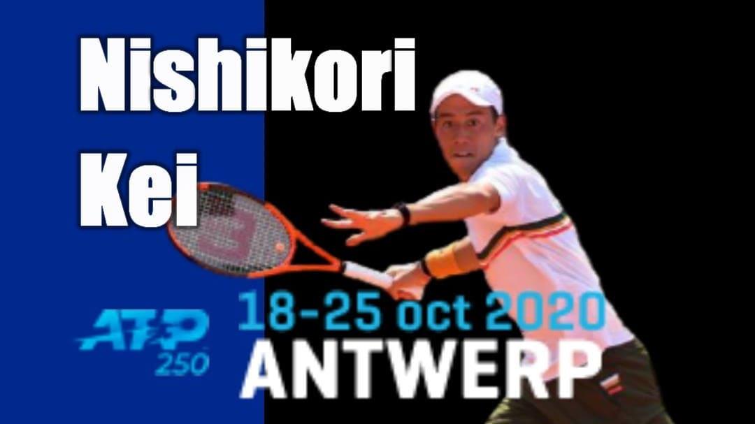 アントワープ・ヨーロピアンオープン(ベルギー大会)出場予定の錦織圭