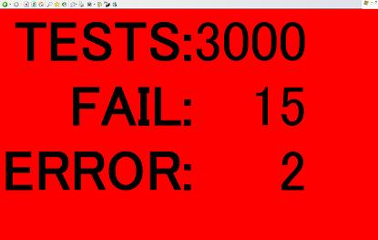 TDD andon fail