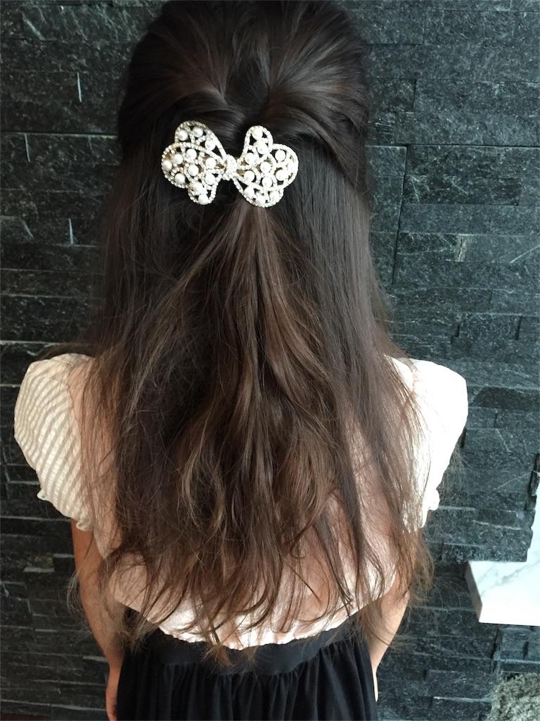 発表会 髪型:image