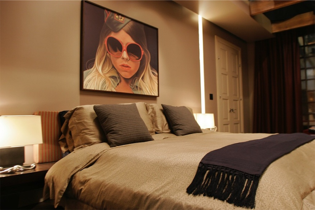 オシャレ 寝室