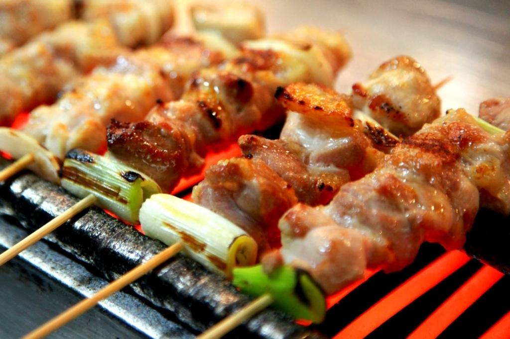 ふるさと納税 宮崎県高鍋町 宮崎県産の鶏・豚串、人気7種類35本セット