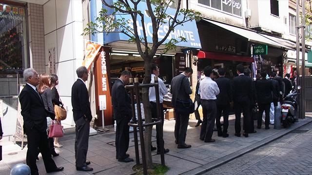 名古屋の行列のできるお店