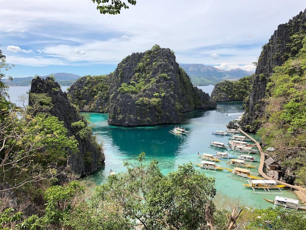 フィリピン秘境 コロン島 カヤンガンレイク
