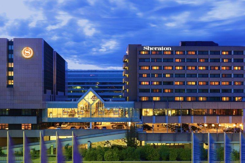 フランクフルト空港 近い シェラトン・フランクフルトエアポート・ホテル&コンファレンスセンター 宿泊記 口コミ  レビュー SPGアメックスの特典