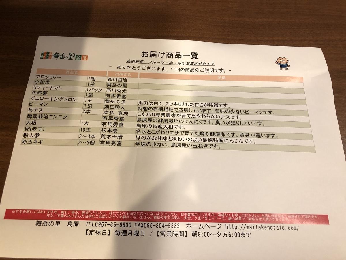 ふるさと納税 長崎県島原(しまばら)市 旬のおまかせAセット