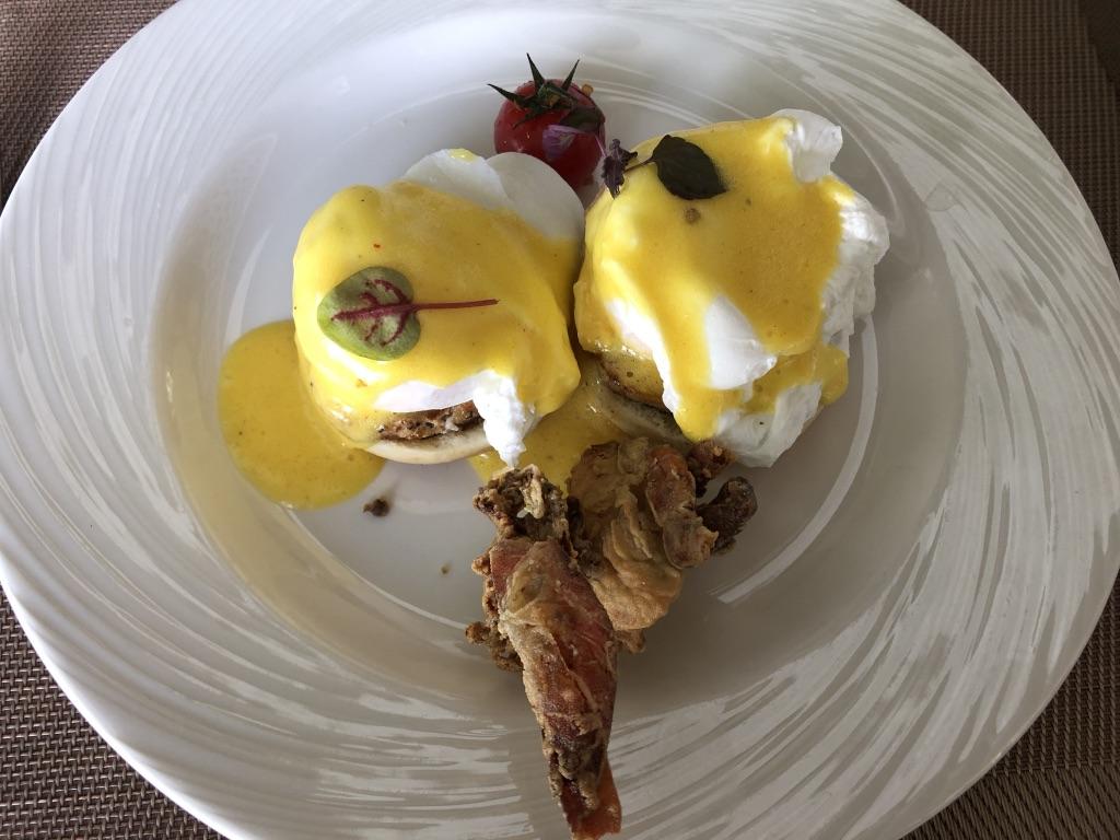 セントレジス ・モルディブ・ヴォンムリ・リゾート 朝食 メニュー 口コミ 感想