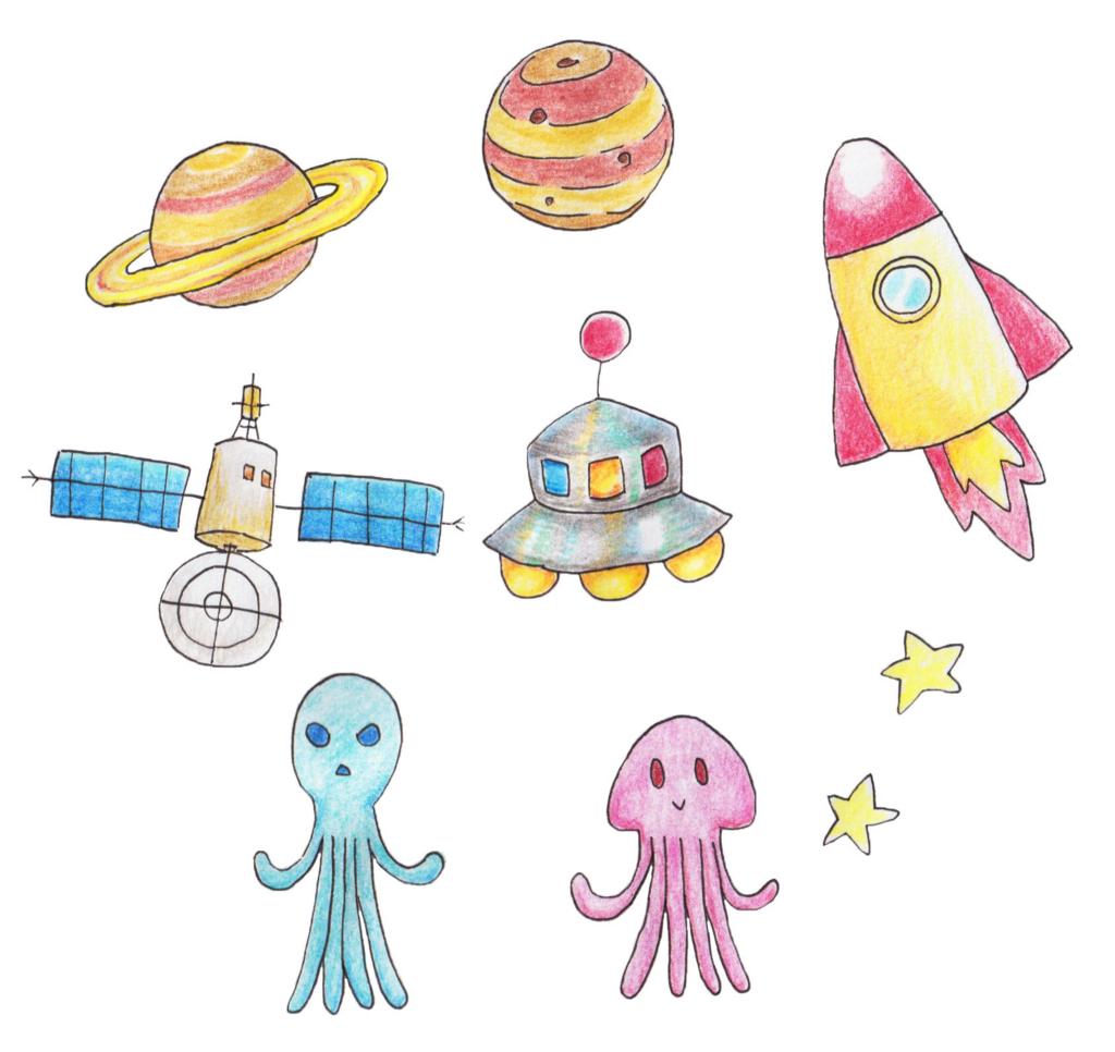 宇宙人のイラスト Mizushiのイラスト倉庫