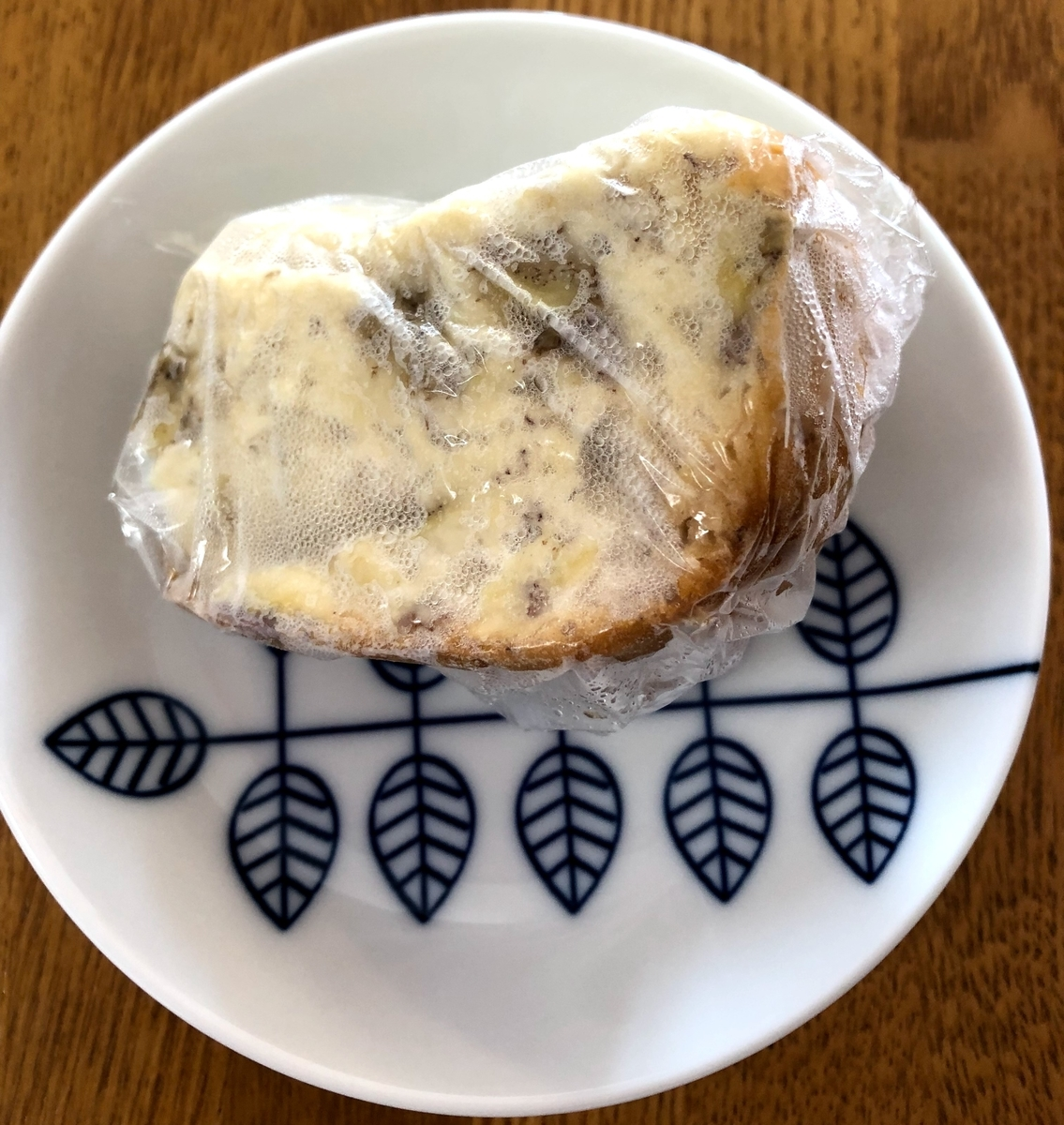 冷凍バナナ甘酒ケーキ