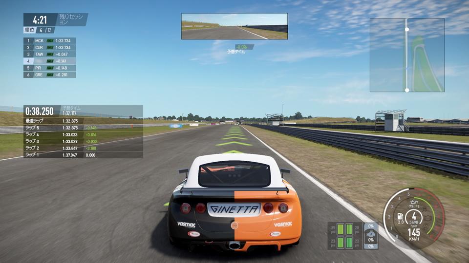 PS4】リアル系レースゲーム「PRO...