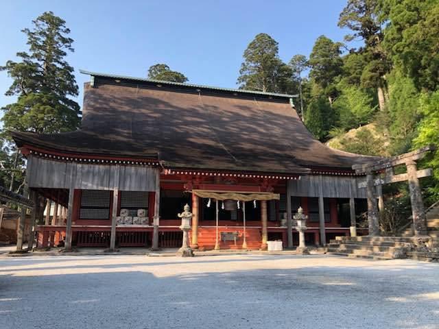 英彦山神社 奉幣殿 (工事前)