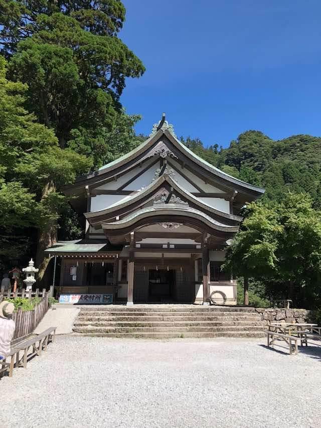 英彦山神宮 社務所