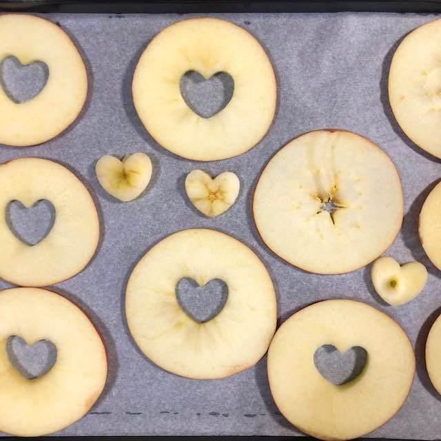 りんご輪切り