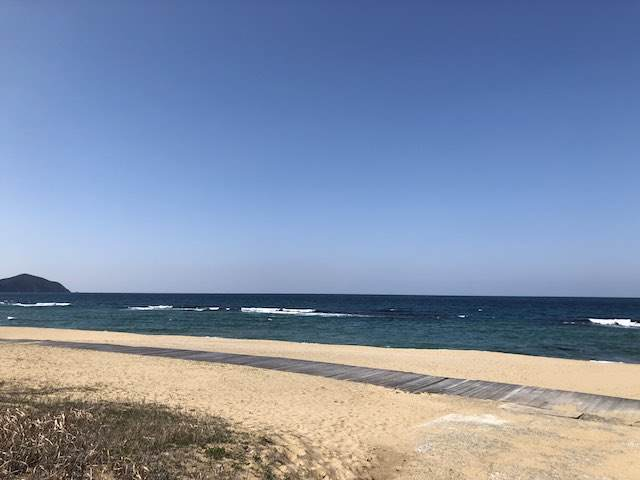 岡垣町の海