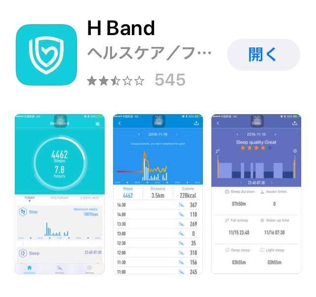 H band