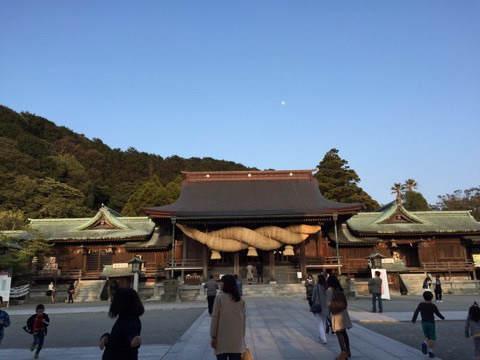 3月ごろの宮地嶽神社