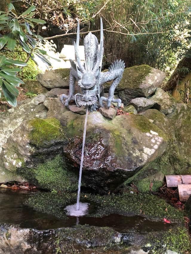 英彦山神宮 霊水
