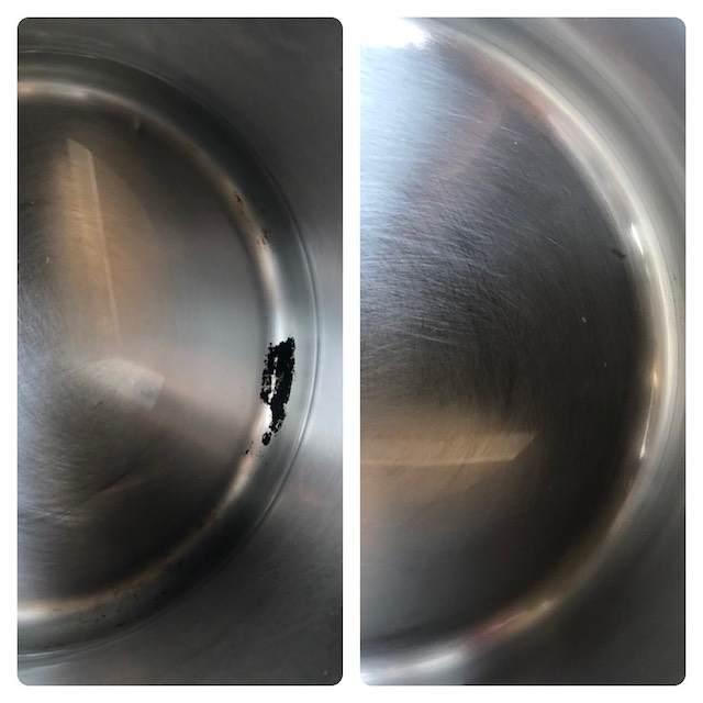 鍋にこびりついた焦げを取る方法