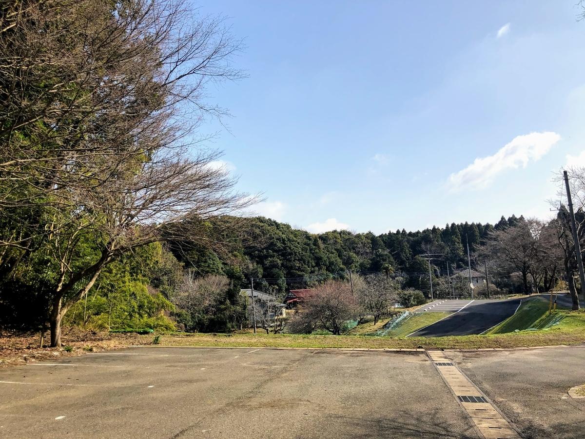 梅ヶ瀬渓谷駐車場