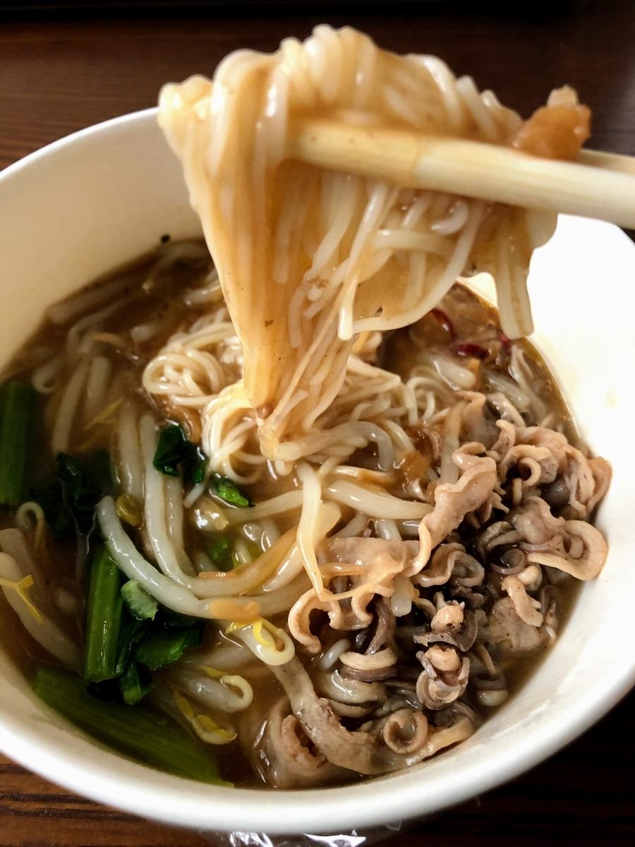 ナチュラルローソン 台湾麺線