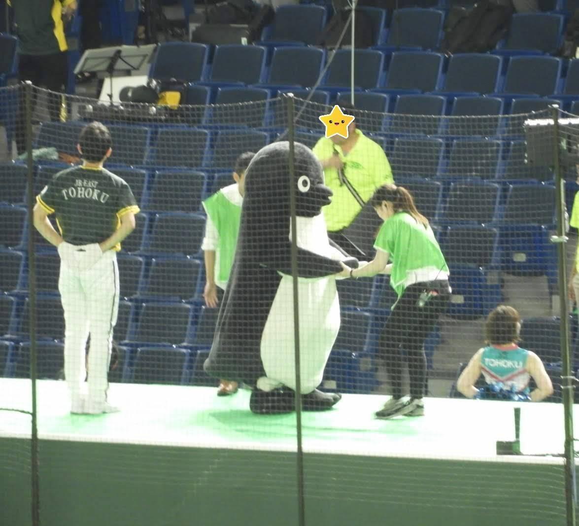 都市対抗 suicaペンギン