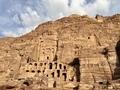 Royal Tombs at Petra ペトラ王家の墓