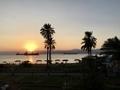 sunset at Aqaba アカバサンセット