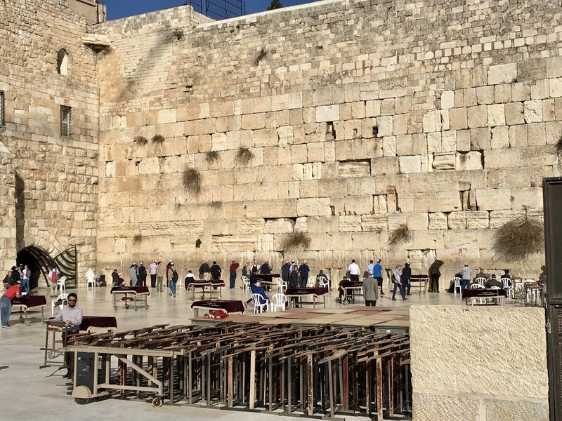 Wailing wall at Jerusalem エルサレム嘆きの壁