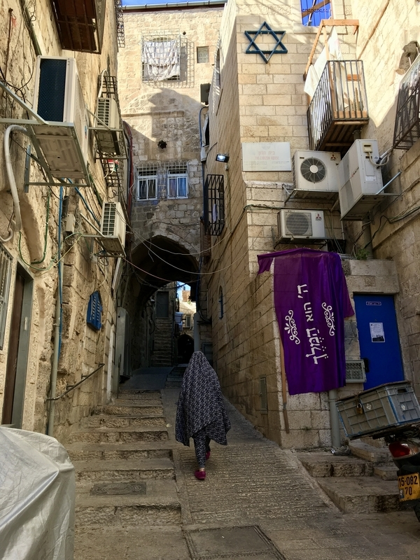 Somewhere in Jerusalem エルサレムにて