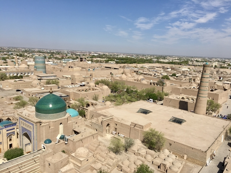 Ichan Qa'la Khiva ヒヴァのイチャン・カラ