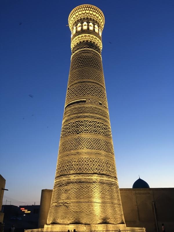 Kalyan Minaret at Bukhara ブハラのカラーン・ミナレット