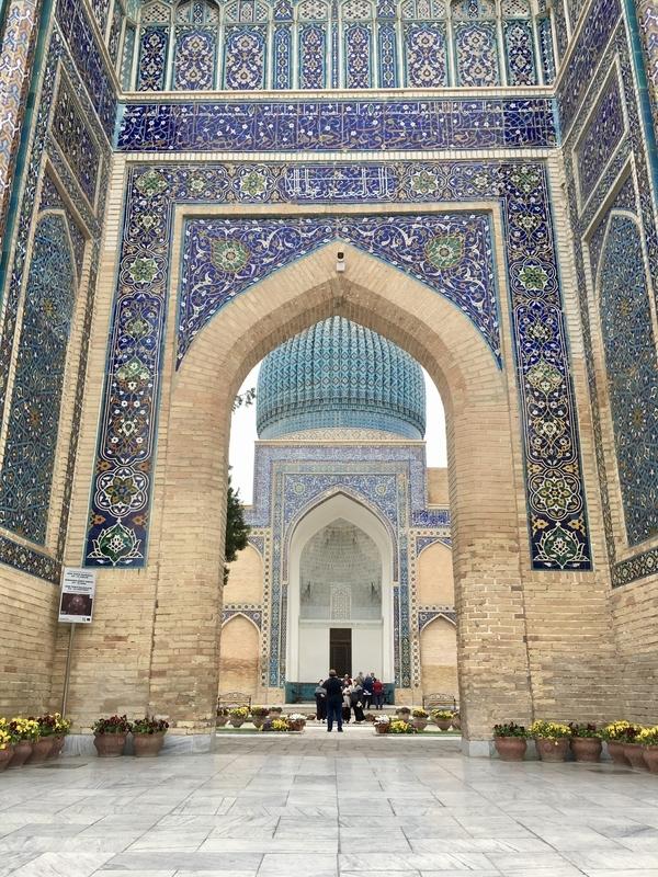 Amir Temur at Samarkand サマルカンドグーリ・アミール廟