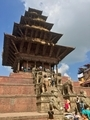 Nyatapola temple at Bhaktapur バクタプルニャタポラ寺院
