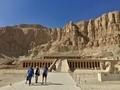 Deir el Bahri at Luxor ハトシェプスト女王葬祭殿