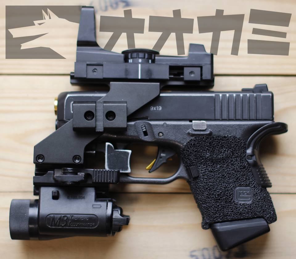 G26NGC(Night Game Custom)Spec-3 with Stepling Custom Grip was completed!!