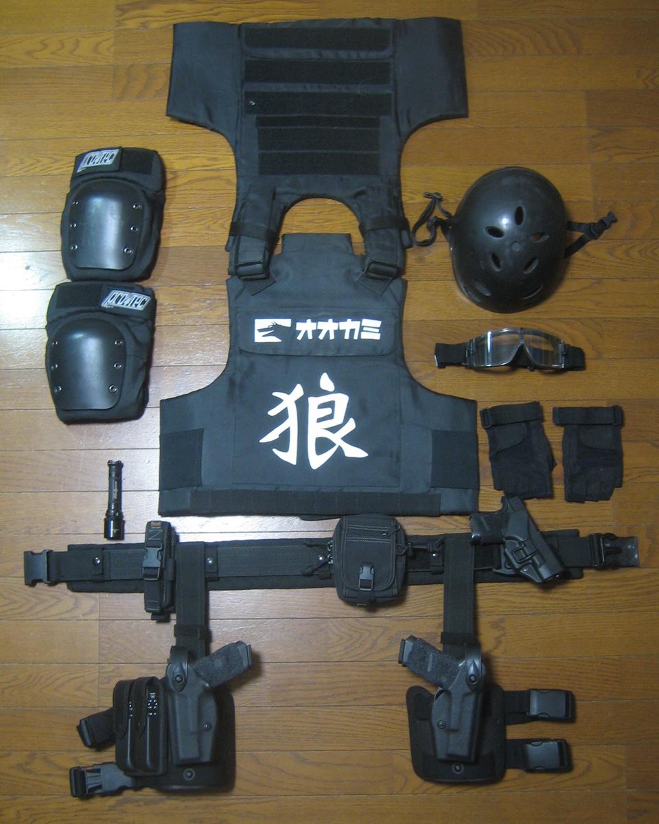 Survival Game Equipment of Ookami(インドアハンドガン戦用兵装品)